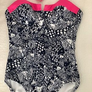 LILLY PULITZER One Piece Bathing Suit (Small)
